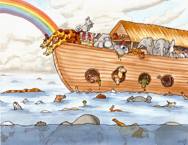 Noah s Ark by frowzivitch